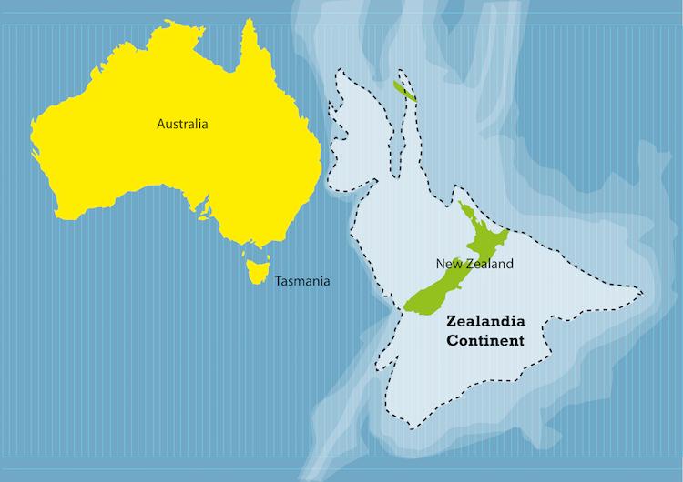 Зеландия — восьмой континент, о существовании которого вы не знали