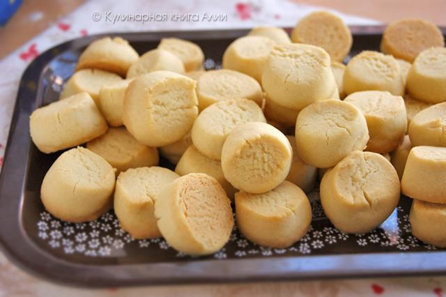 Самое вкусное песочное печенье