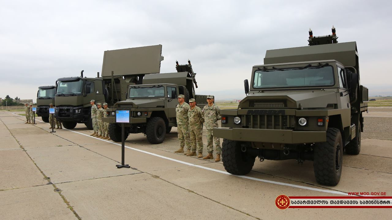 Грузия получила французские зенитные ракетные комплексы Mistral ATLAS