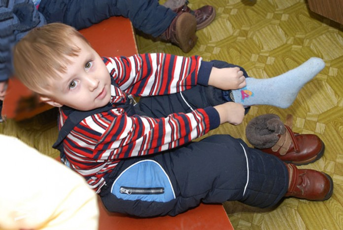 Однажды в детском саду воспитательница проявила недюжинную силу воли