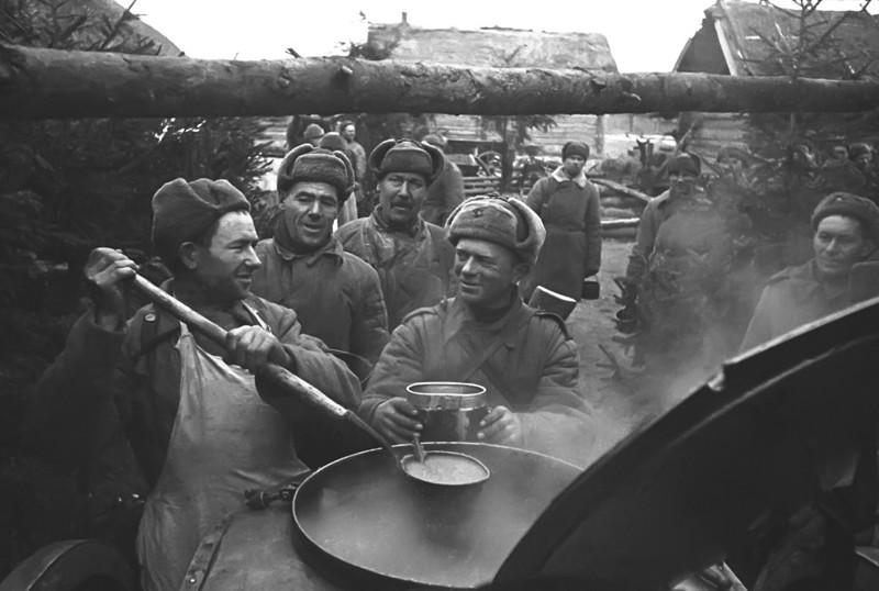 Что ели во время войны