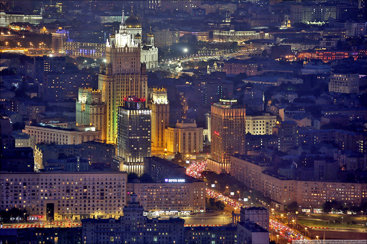 Самая высокая смотровая площадка в Москве