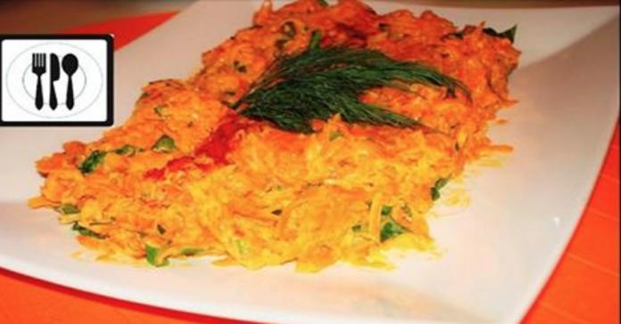 Очень популярный на сегодня салат-закуска в Турции: вкусная морковь с грецкими орехами