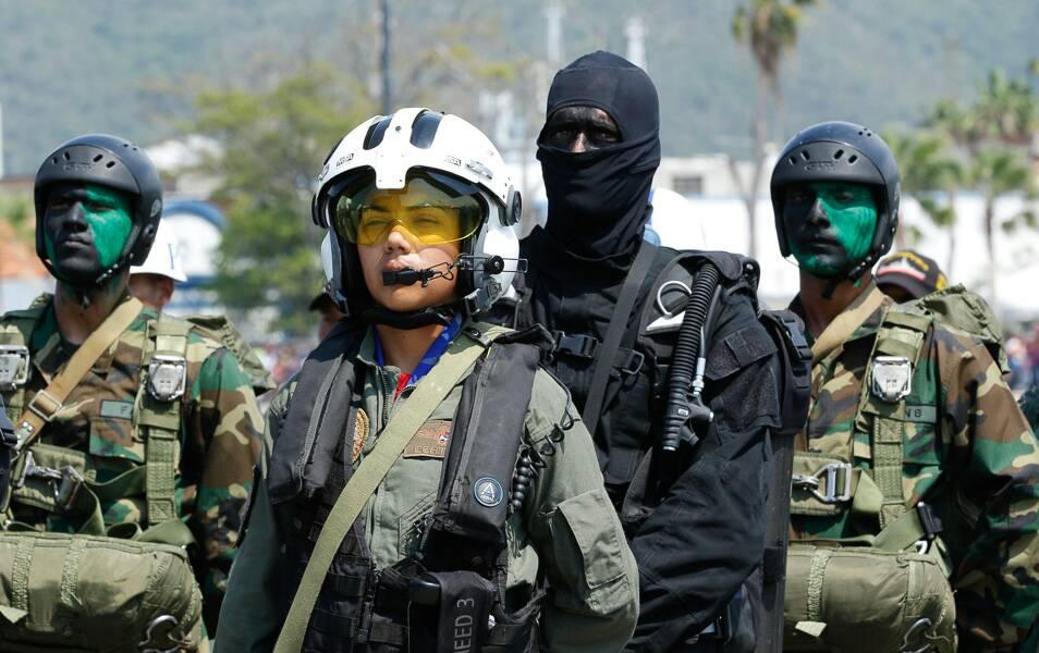 Военно-морской парад в Венесуэле