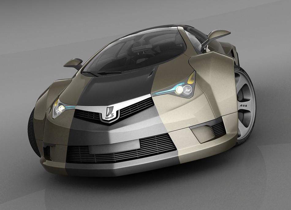 Лада Evolition. автомобили, ваз, газ, концепты, российские автомобили, уаз