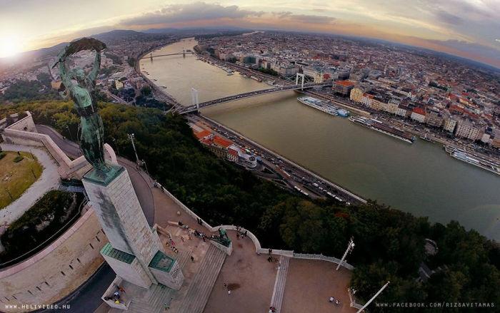 Будапешт в объективе Тамаша Рицави.
