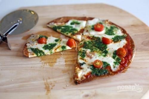 Простая и полезная пицца.