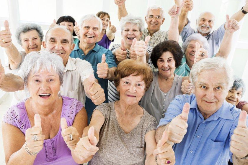 Про бодрых пенсионеров