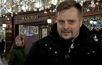 Актер Носик поделился впечатлениями от новогодней Москвы