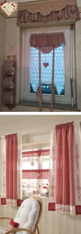 Текстильные декор для дома из остатков ткани. Нежно и уютно…
