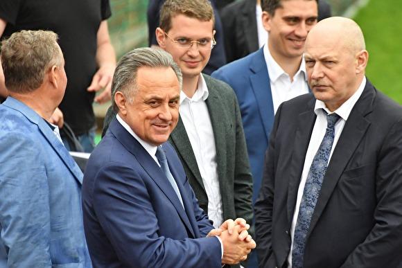 СМИ: Мутко запретили появляться рядом с президентом FIFA