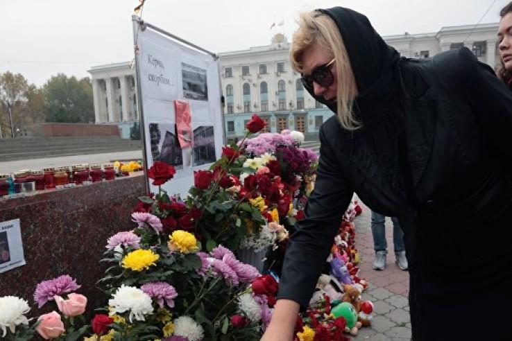 Керчь, скорбим: Крым и Росси…