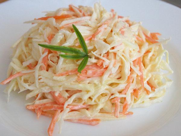 Французский салат с морковью…