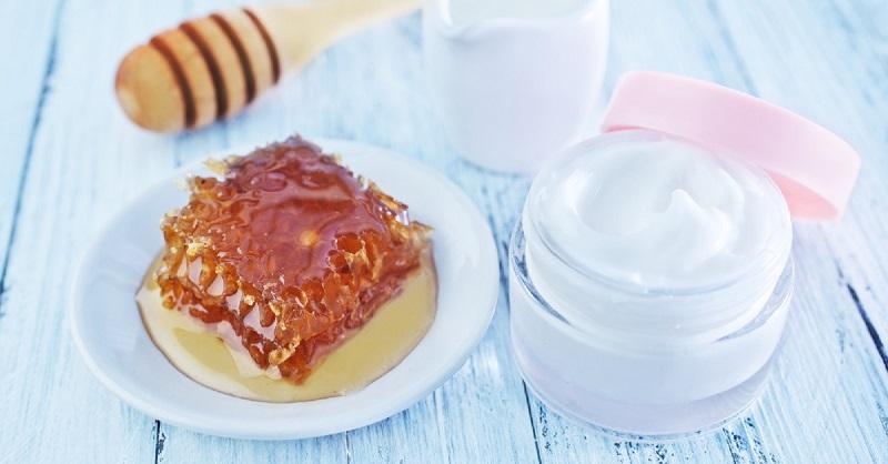 Домашний крем с мёдом