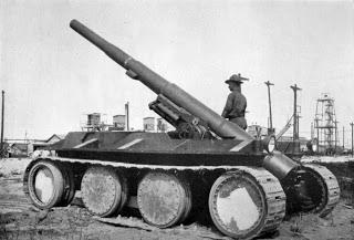 Как выглядели первые танки начала 20 века
