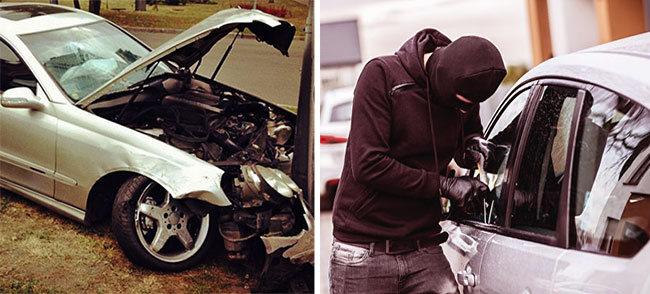 Угонщики будут возмещать убытки пострадавшим за разбитую машину!