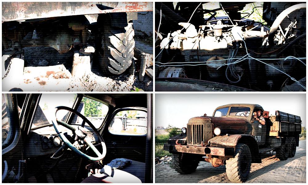 Автомобиль апокалипсиса: Как завели ЗИЛ-157, который простоял 30 лет