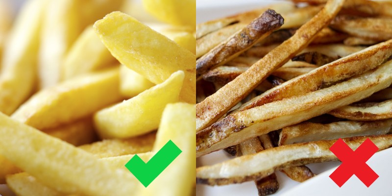 вымоченный картофель