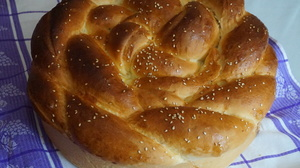 Пышный быстрый сдобный хлеб  Погача