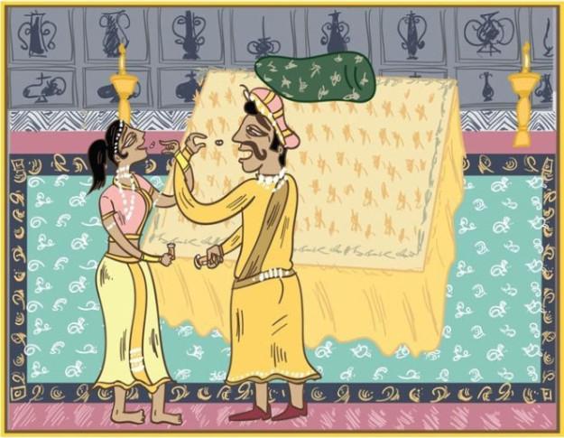 10 Секретных поз Камасутры, которые могут принимать только женатые пары