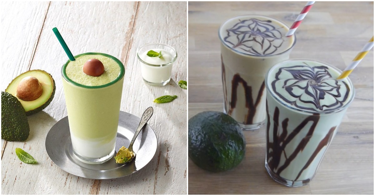 Хит летнего сезона: кофе Фраппучино с авокадо. Мы расскажем, как приготовить его дома