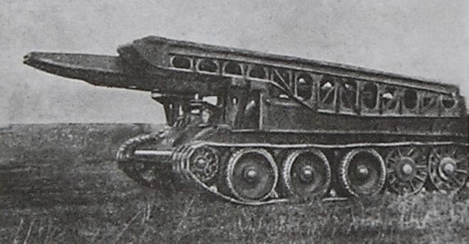 Танк-мост ТМ-34