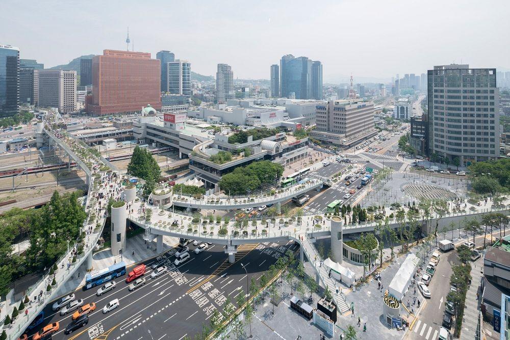 В Сеуле стало очередным необычным парком больше
