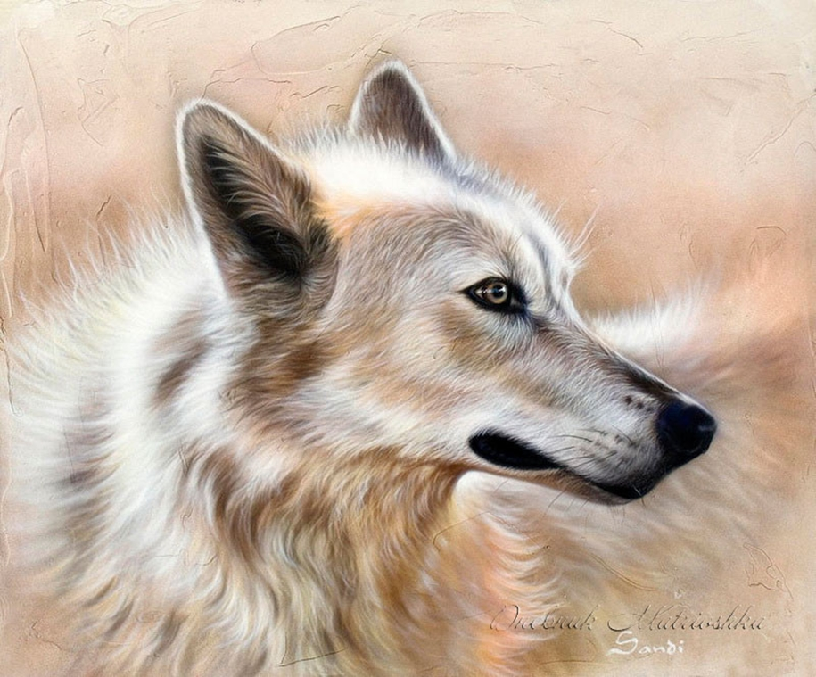 Awesome realistic drawings of animals 18