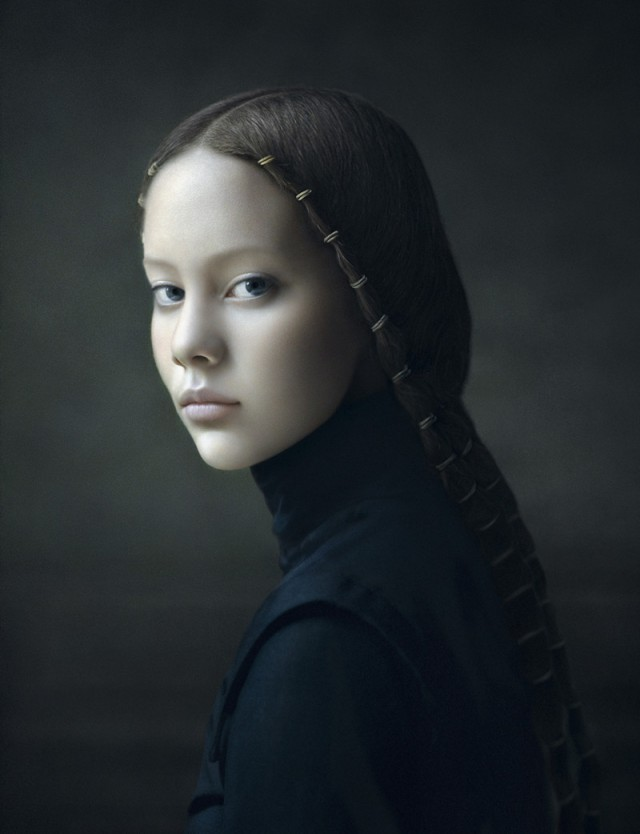 Фотопортреты в духе голландских художников