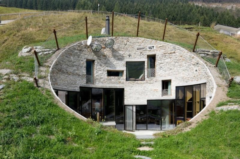 Удивительные дома, скрытые от посторонних глаз