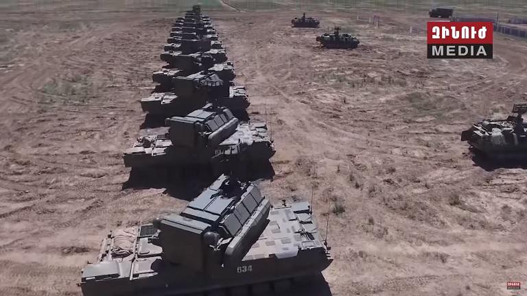 Армения получит российские зенитные ракетные системы «Тор-М2»