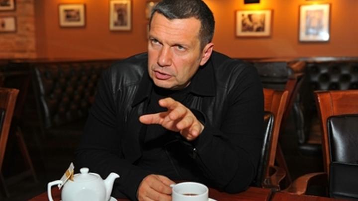 Соловьев вступился за народ и преподал урок «грабителю» Чубайсу