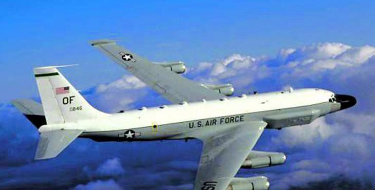 Американский самолет-разведчик приблизился к российским границам