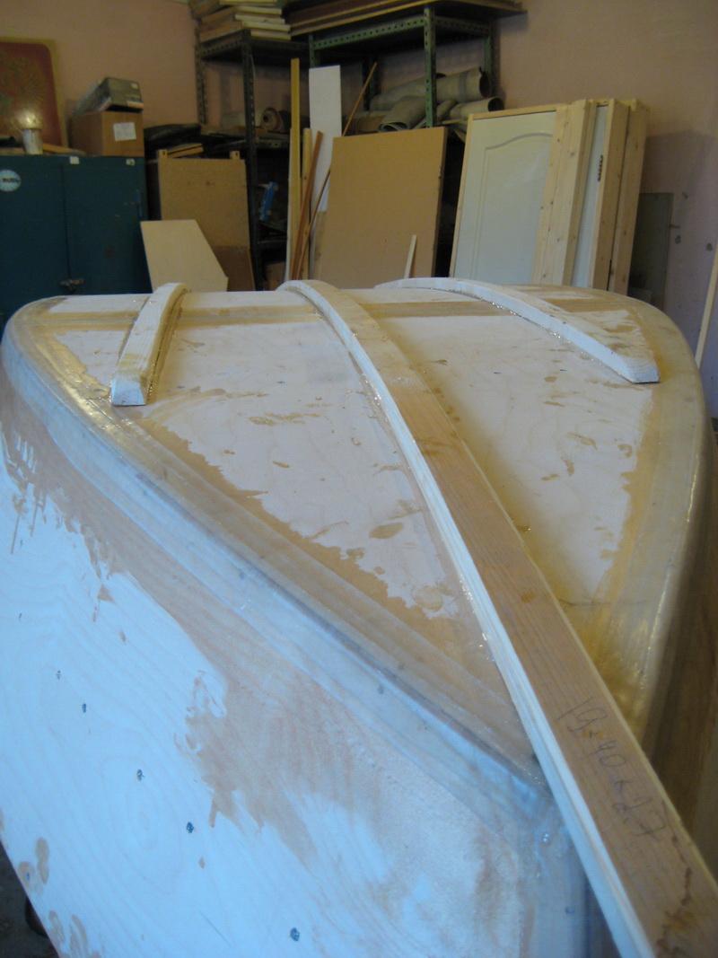 покраска лодки из фанеры своими руками