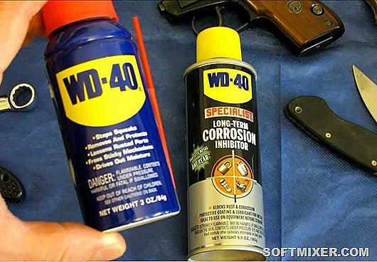 Необычные способы использования WD-40