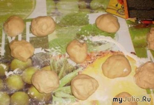 Вкусные булочки - готовим вместе с сынишкой!!!