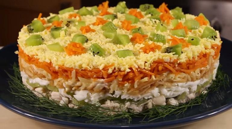 Потрясающе яркий салат «Леди…
