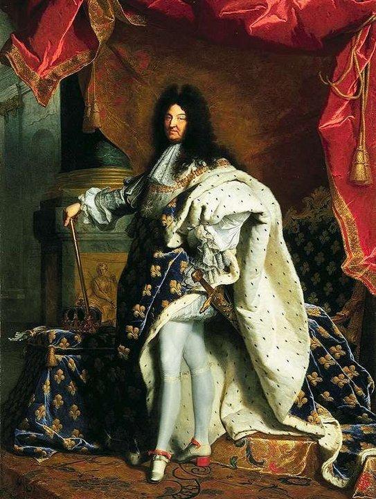 Некоролевская вонь короля Людовика XIV