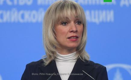 Мария Захарова рассказала, кем хотела стать и почему получила свой пост