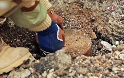 Сирийские саперы разминируют деревню Маклум