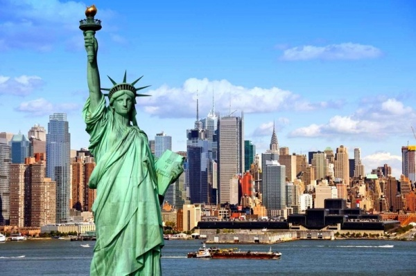ВНью-Йорке для туристов закрыли Статую Свободы