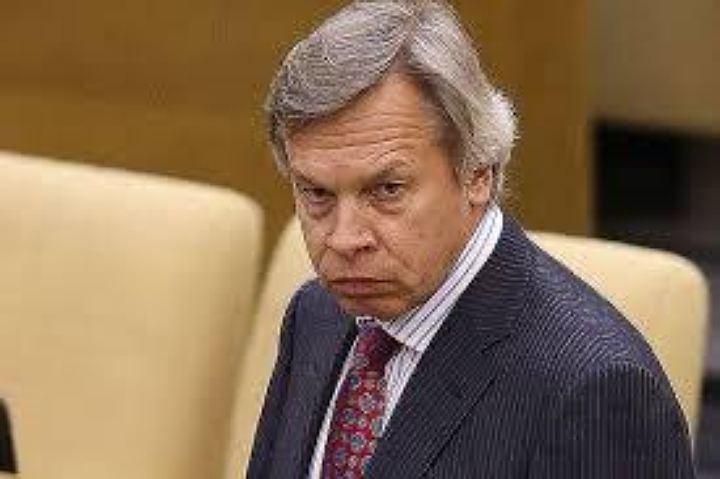 Пушков прокомментировал заявление Порошенко о создании в Европе антироссийской коалиции