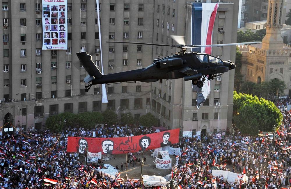 Египет получит от США десять боевых вертолетов АН-64Е Apache