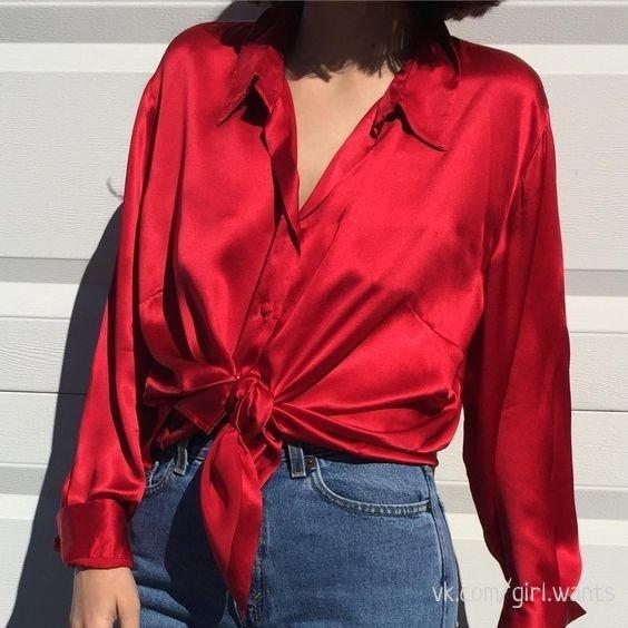 Шелковая рубашка как символ роскоши и вкуса