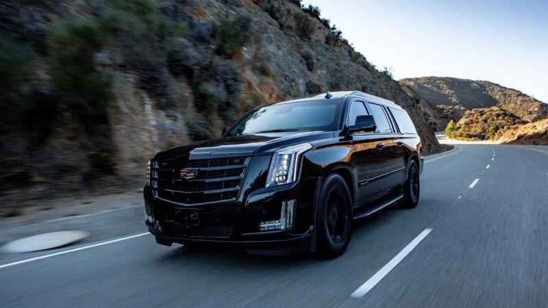 Бронированный Cadillac Escalade с невероятно роскошным салоном