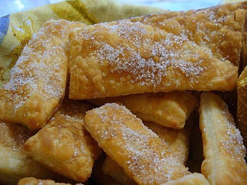 слойка с сахаром рецепт с фото