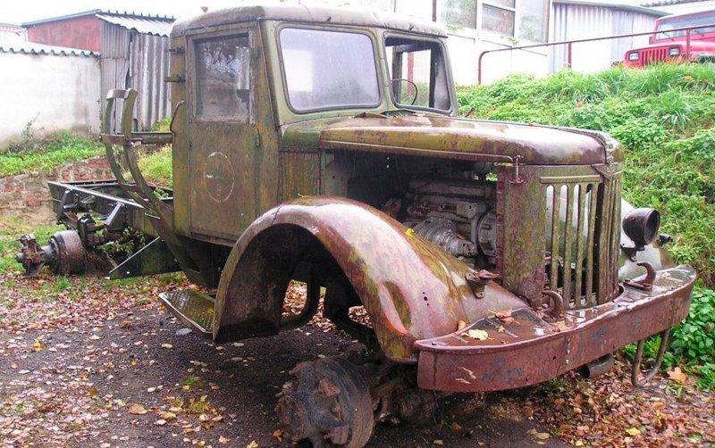 Перевоплощение старого МАЗа в хот-род на базе внедорожника Chevrolet