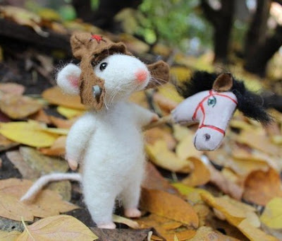 Войлочные игрушки Наталии Протасовой