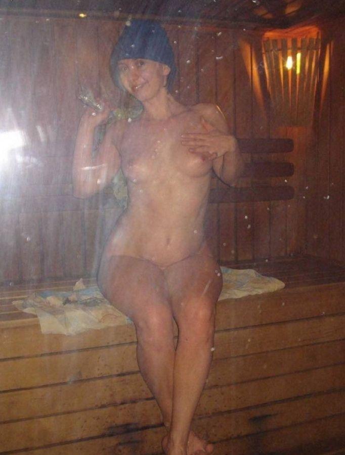 голые фото после бани