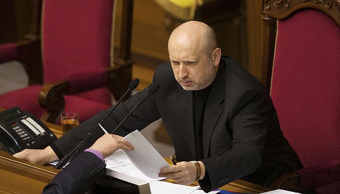 Турчинов: Украина должна стать частью системы ПРО в Европе